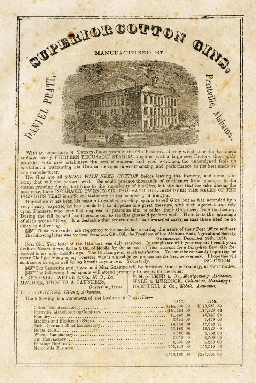 American Cotton Planter, March 1859