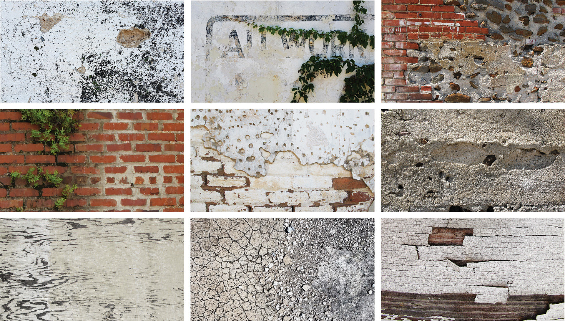 MATERIAL PALETTES: the cotton warehouse district is characterized by the rich patina of materials and strategic patchwork that results from decades of Southern resourcefulness.